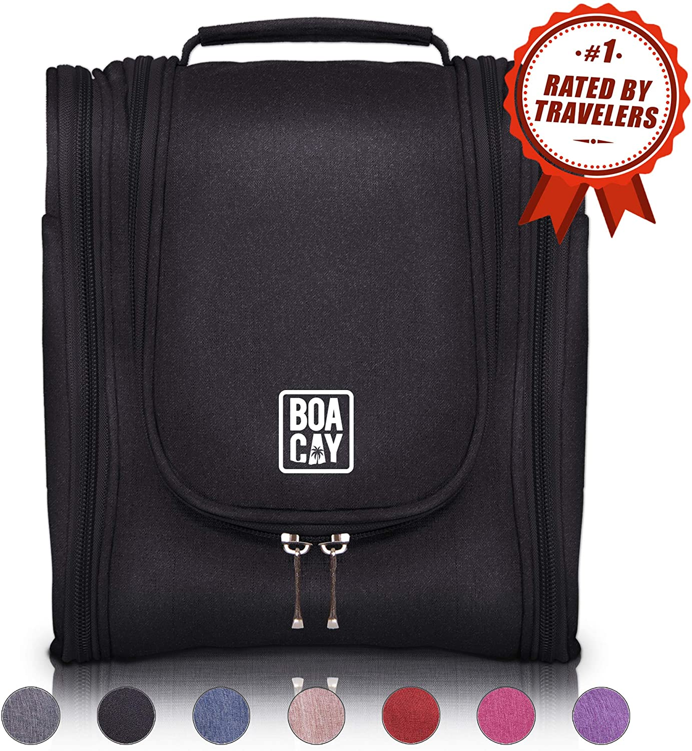 Hanging Travel Toiletry Bag from BOACAY