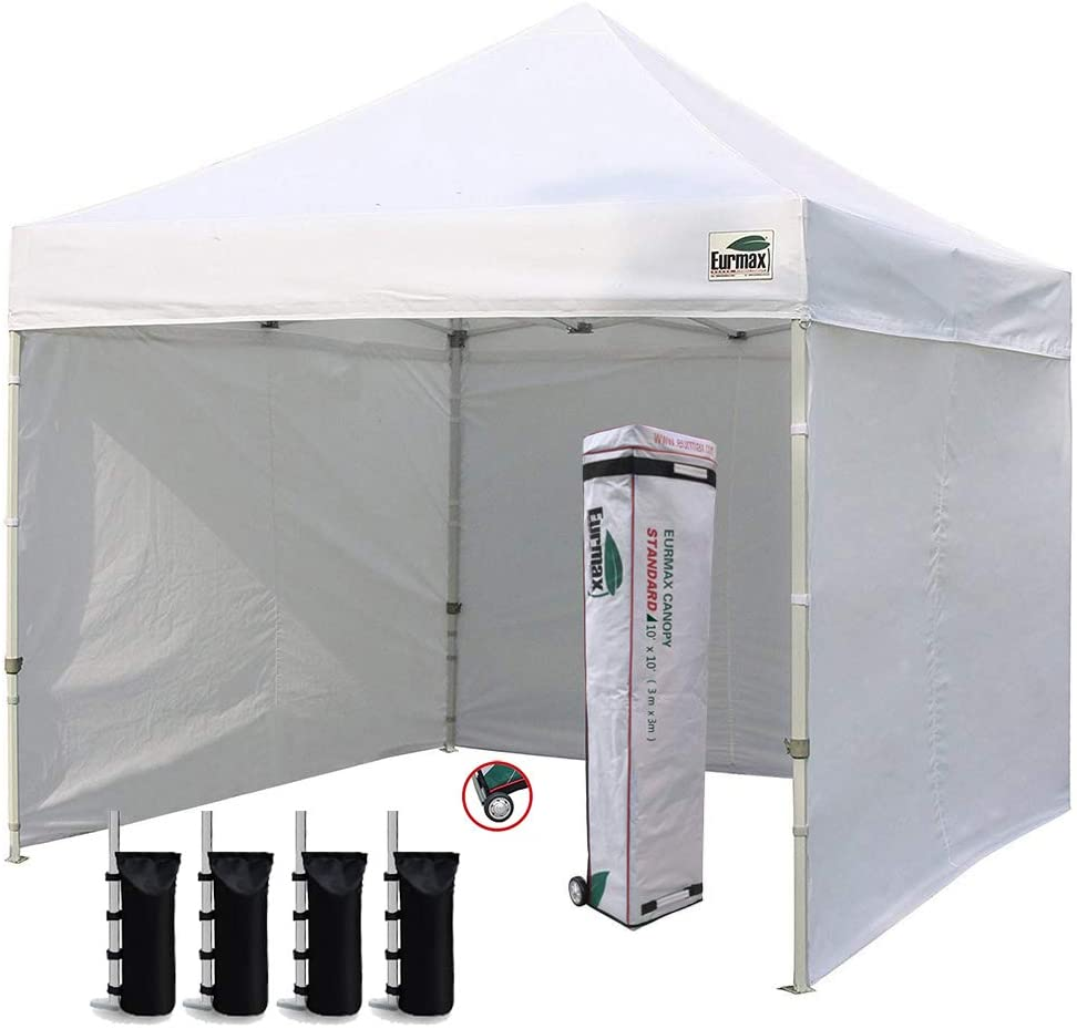 Eurmax New 10x10 Pop Up Canopy