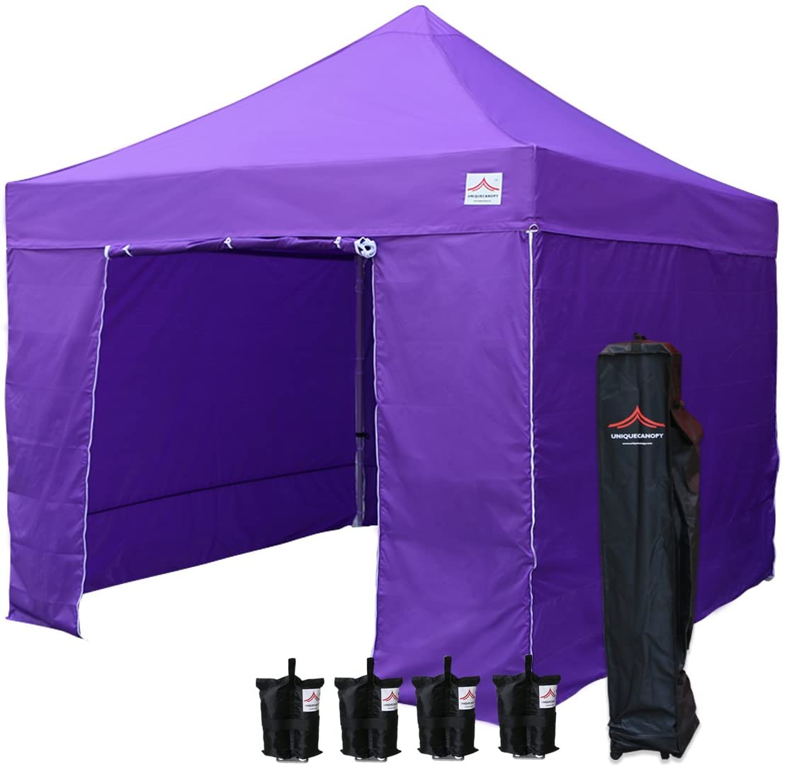 UNIQUECANOPY 10'x10' Ez Pop Up Canopy Tent