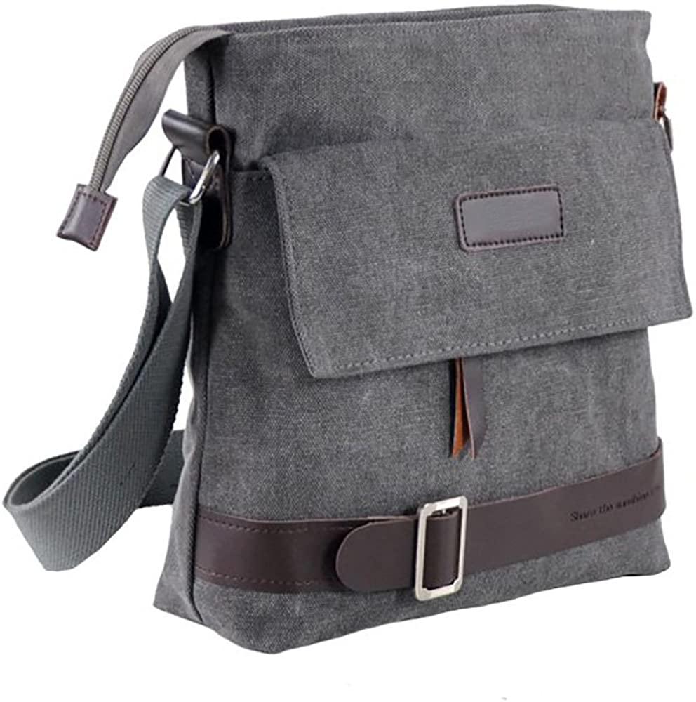 Mfeo Unisex Casual Retro Small Messenger Bag
