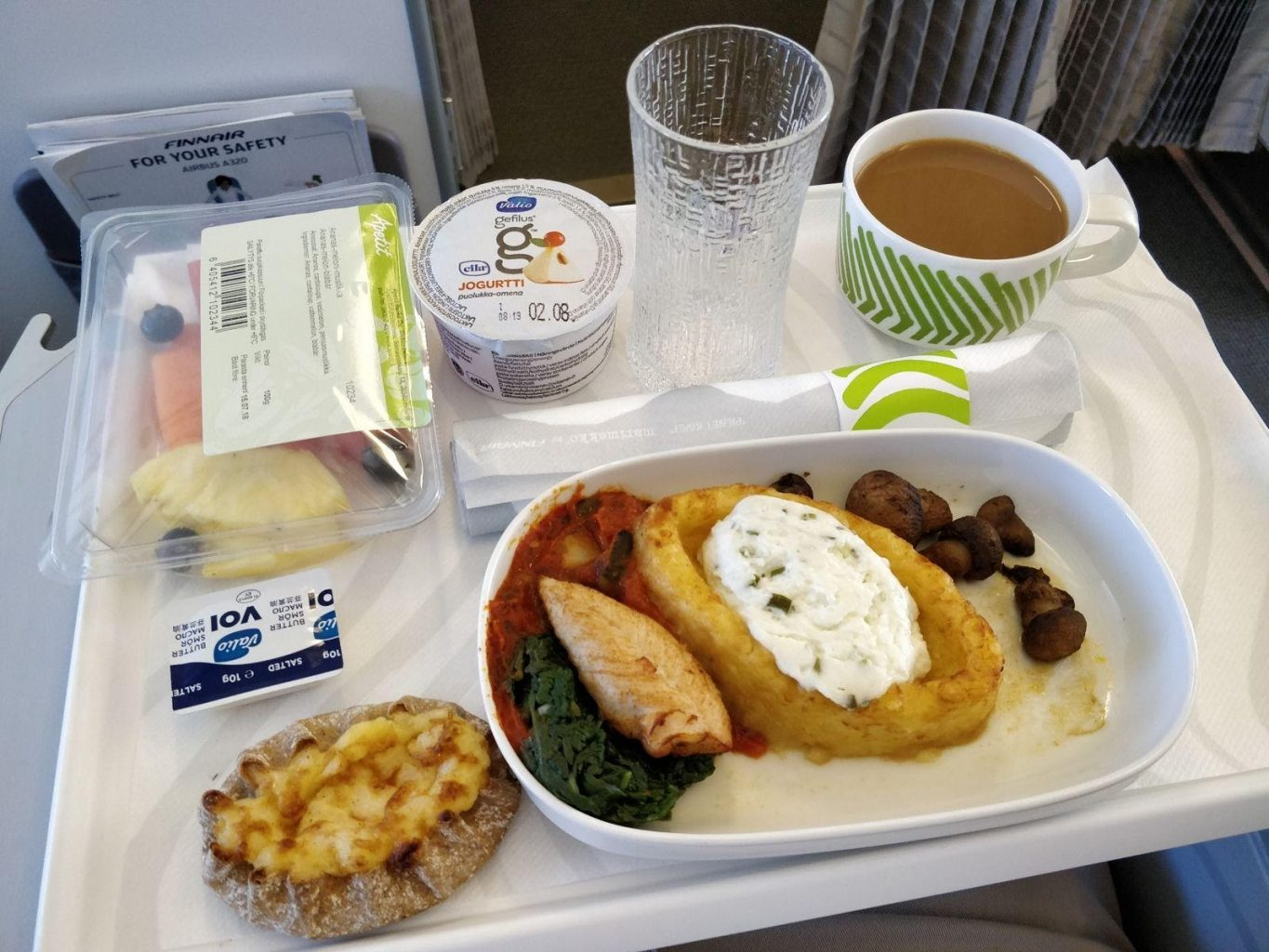 Business-class food and beverage