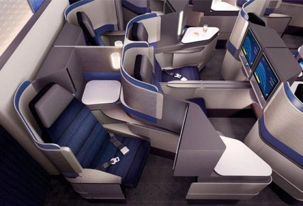 Business-class seat