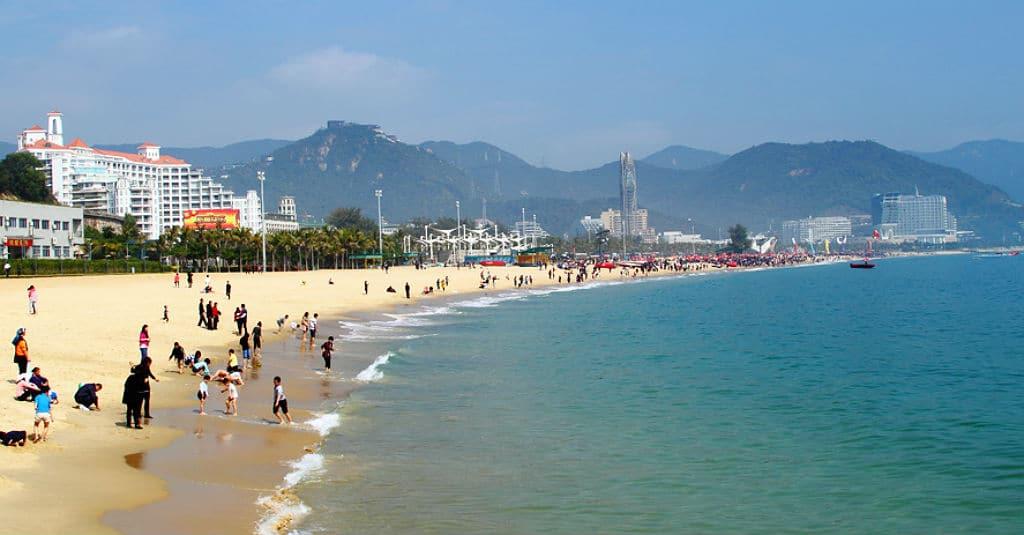 beach in Shenzhen