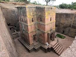 5. Church of St George, Ethiopia