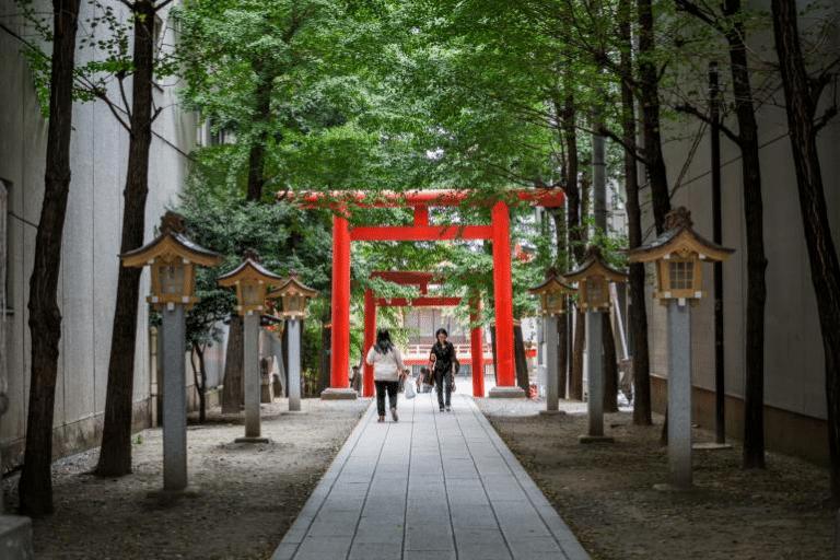 Hanazono Jinja Shrine