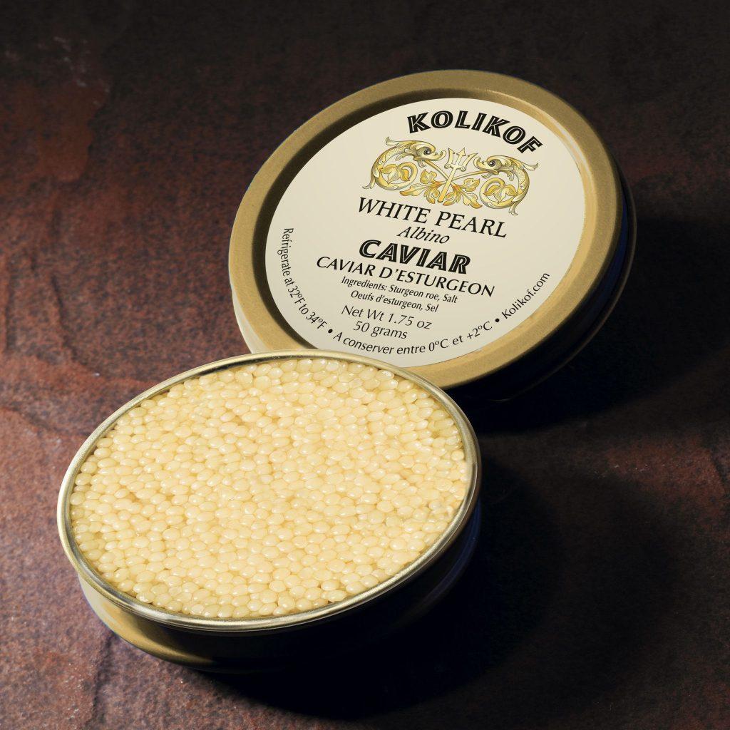 White Pearl Albino Caviar - Most Expensive Food in the World