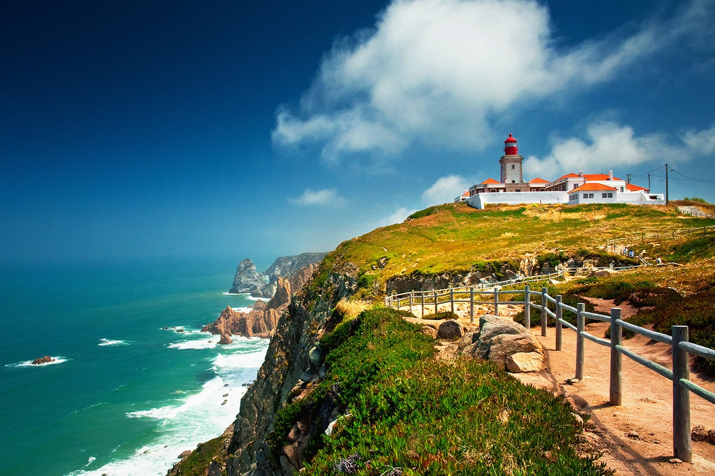 Most Western Point in Europe