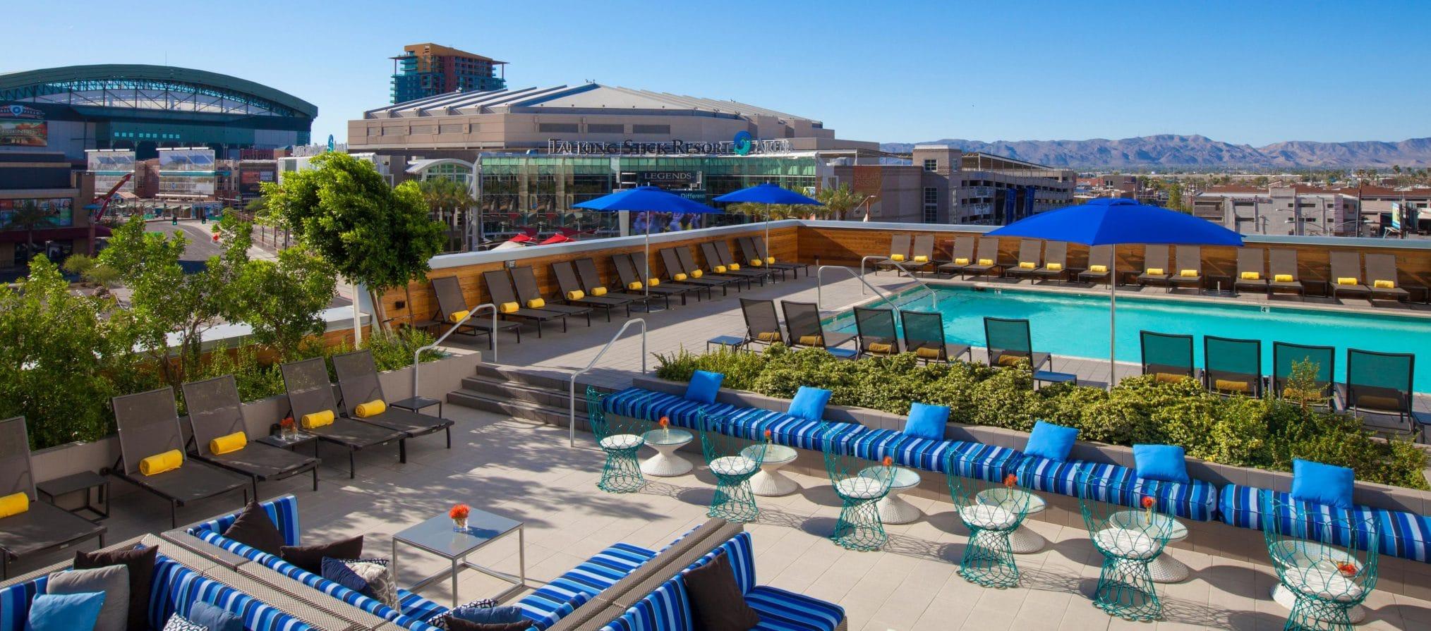 The Kimpton Hotel Palomar Phoenix Cityscape