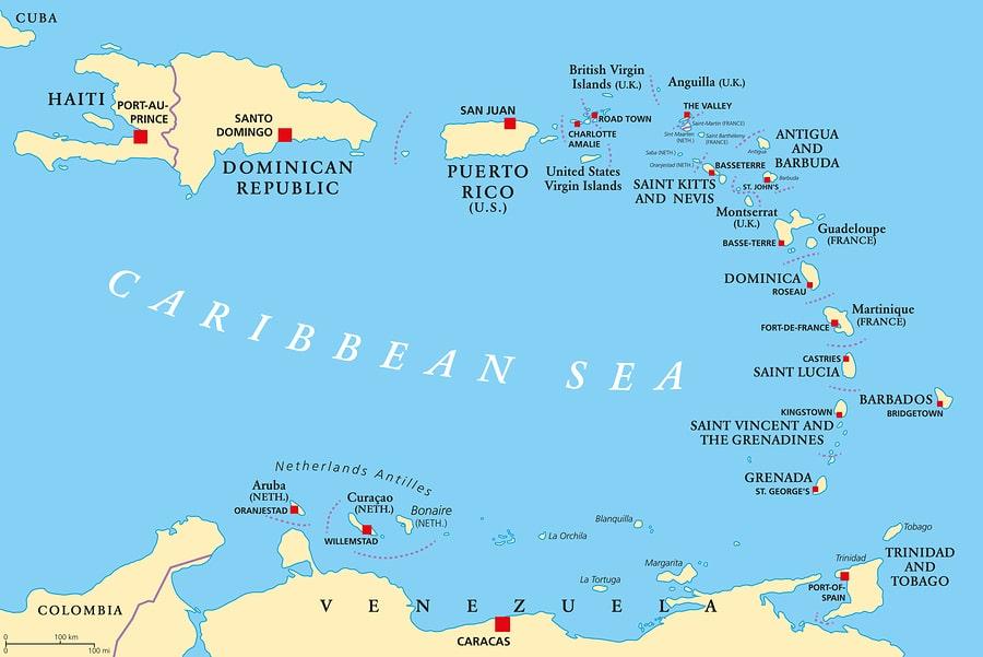 dangerous Caribbean Islands